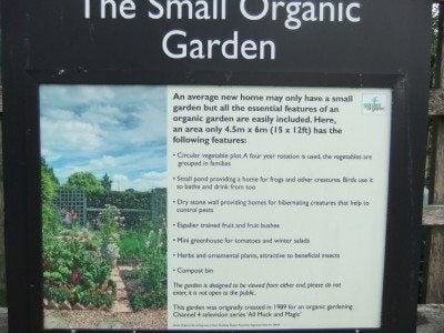 Planning guide for organic gardens: ten tips for organic gardening