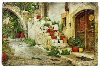 creating a mediterranean style garden - Mediterranean Garden