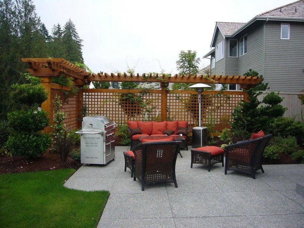 contemporary terrace garden thoughts