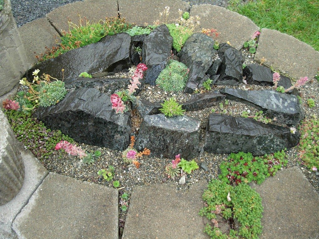 Simple Rock Garden Ideas Second