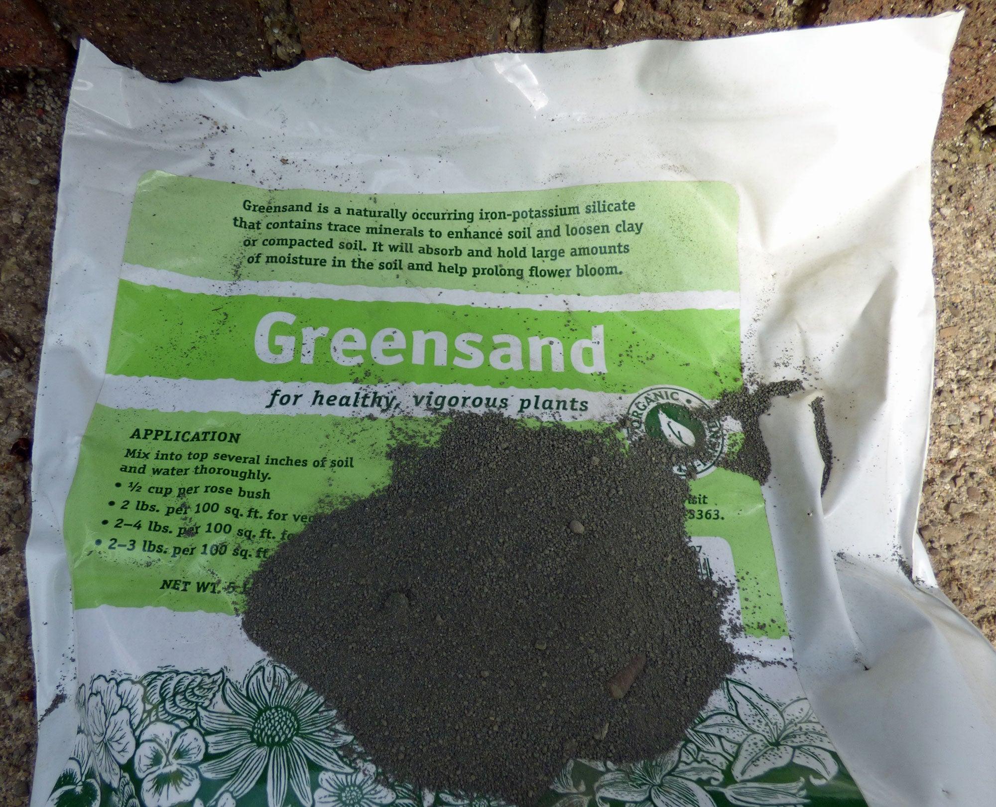 Greensand Garden Application How To Use Greensand Fertilizer