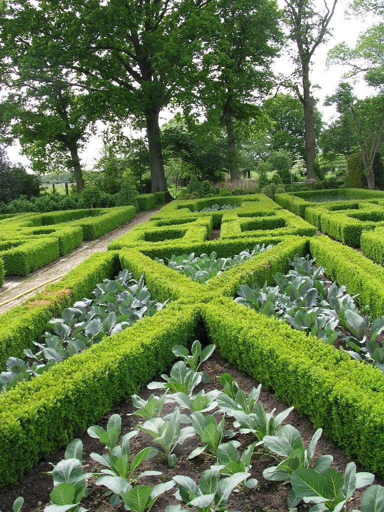 What is a formal garden design information and ideas for for Formal garden design