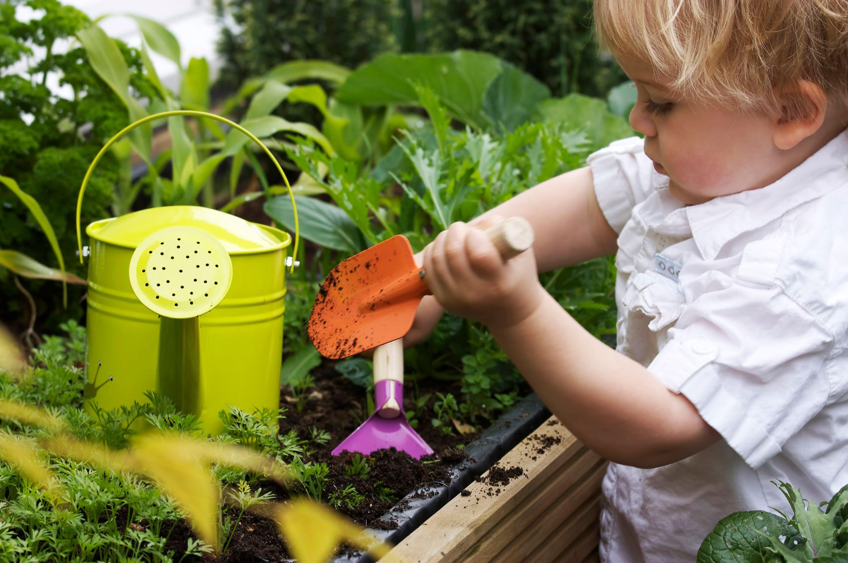 Garden Themes For Toddlers - How To Garden With Young Kids