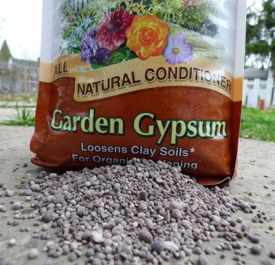 What Is Gypsum Using For Garden Tilth Soil