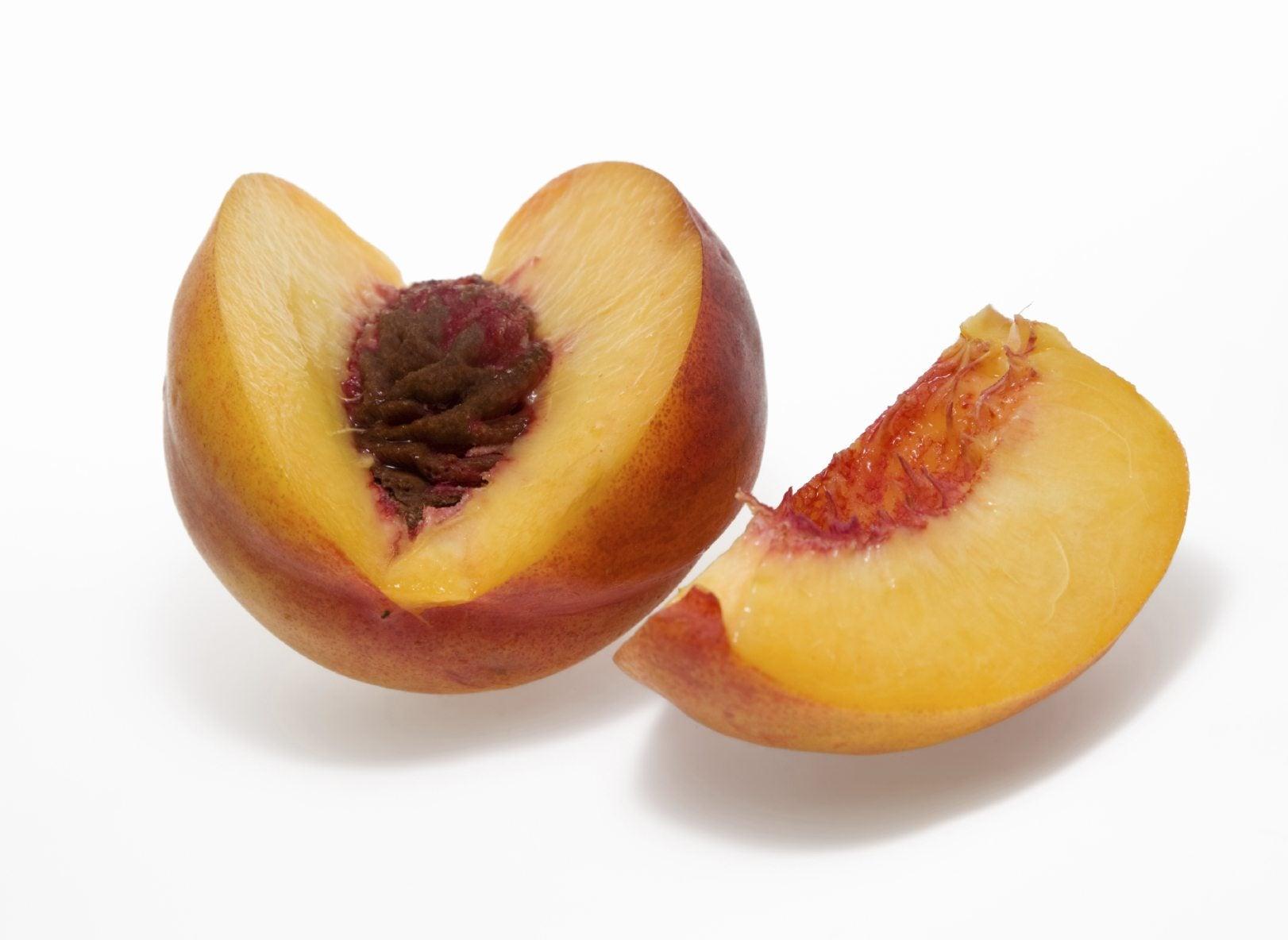 yellow flesh peaches how to tell if