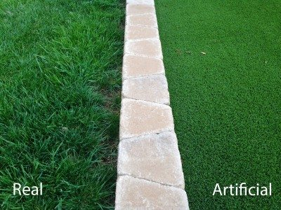 Artificial lawn grass: information on artificial lawn pros and cons