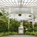 inside Kibble Palace, Glasgow Botanical Gardens, Scotland, UK