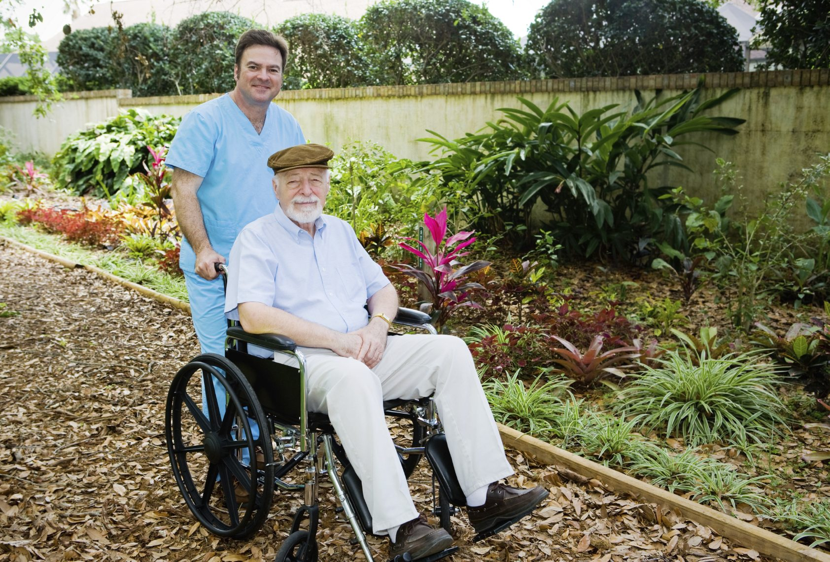 Gardens for nursing home residents learn about gardening for Home for handicapped