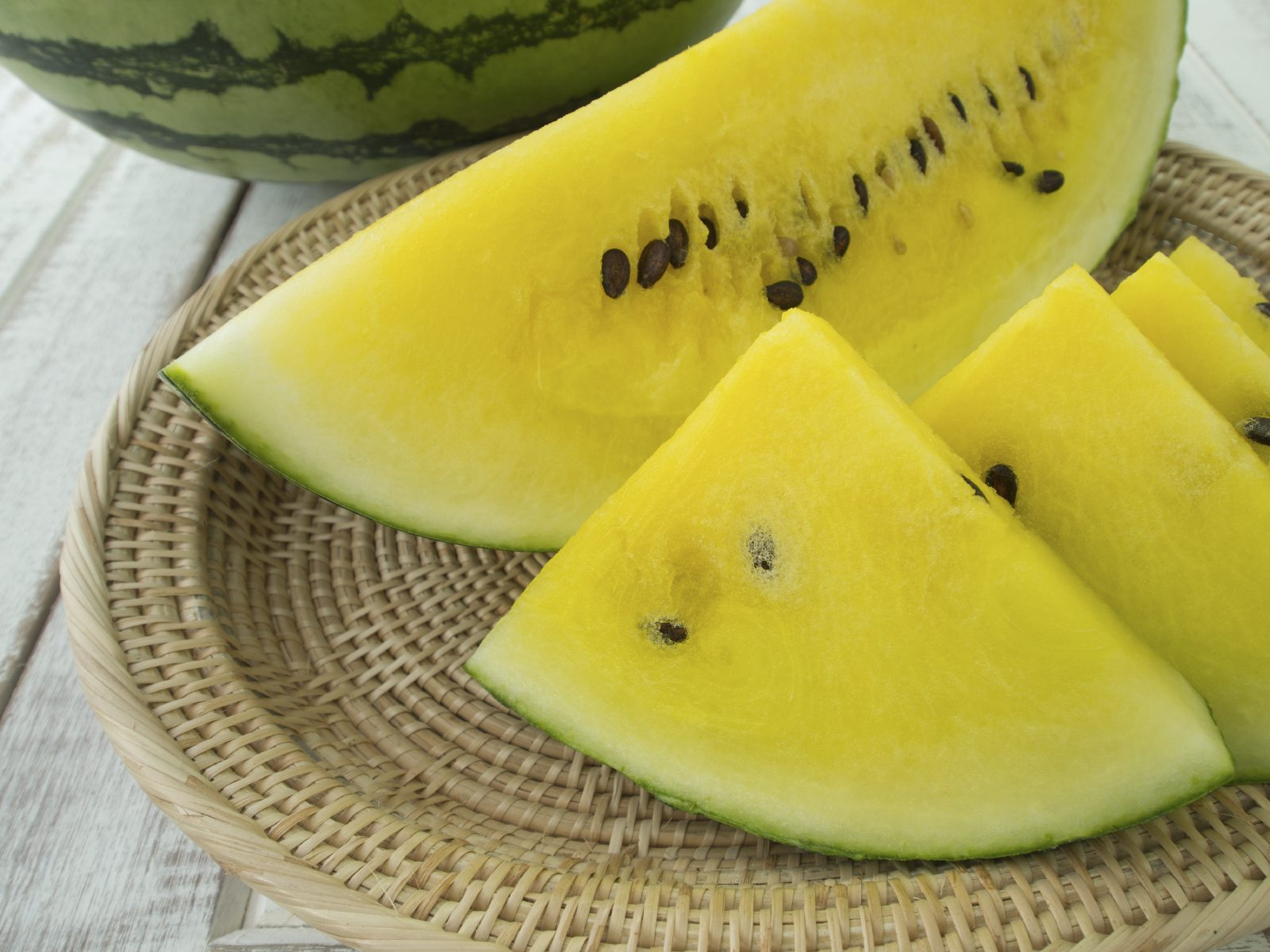 Yellow Watermelon Fruit What To Do For Watermelons Turning Yellow