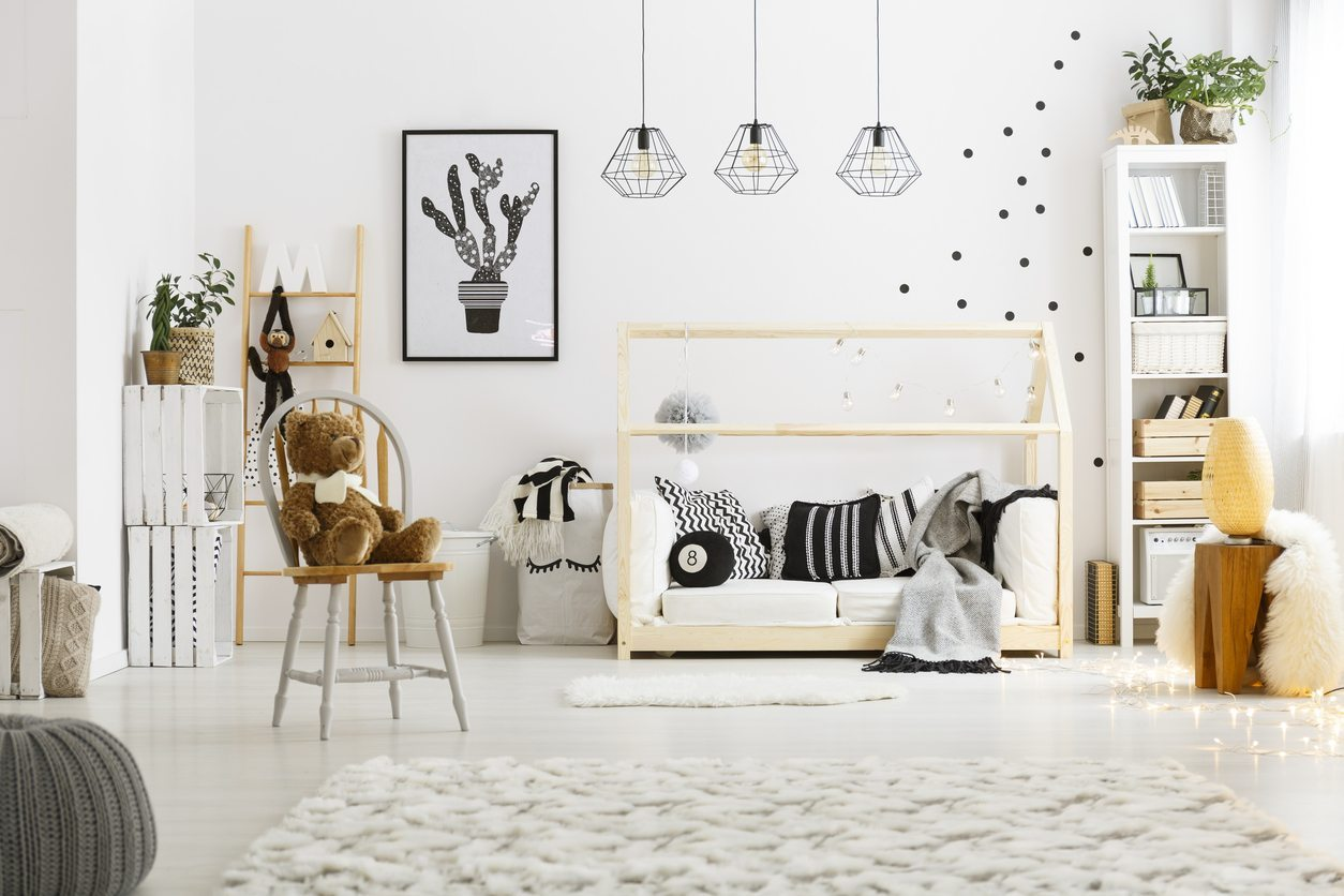 Modern Playroom Wall Decor