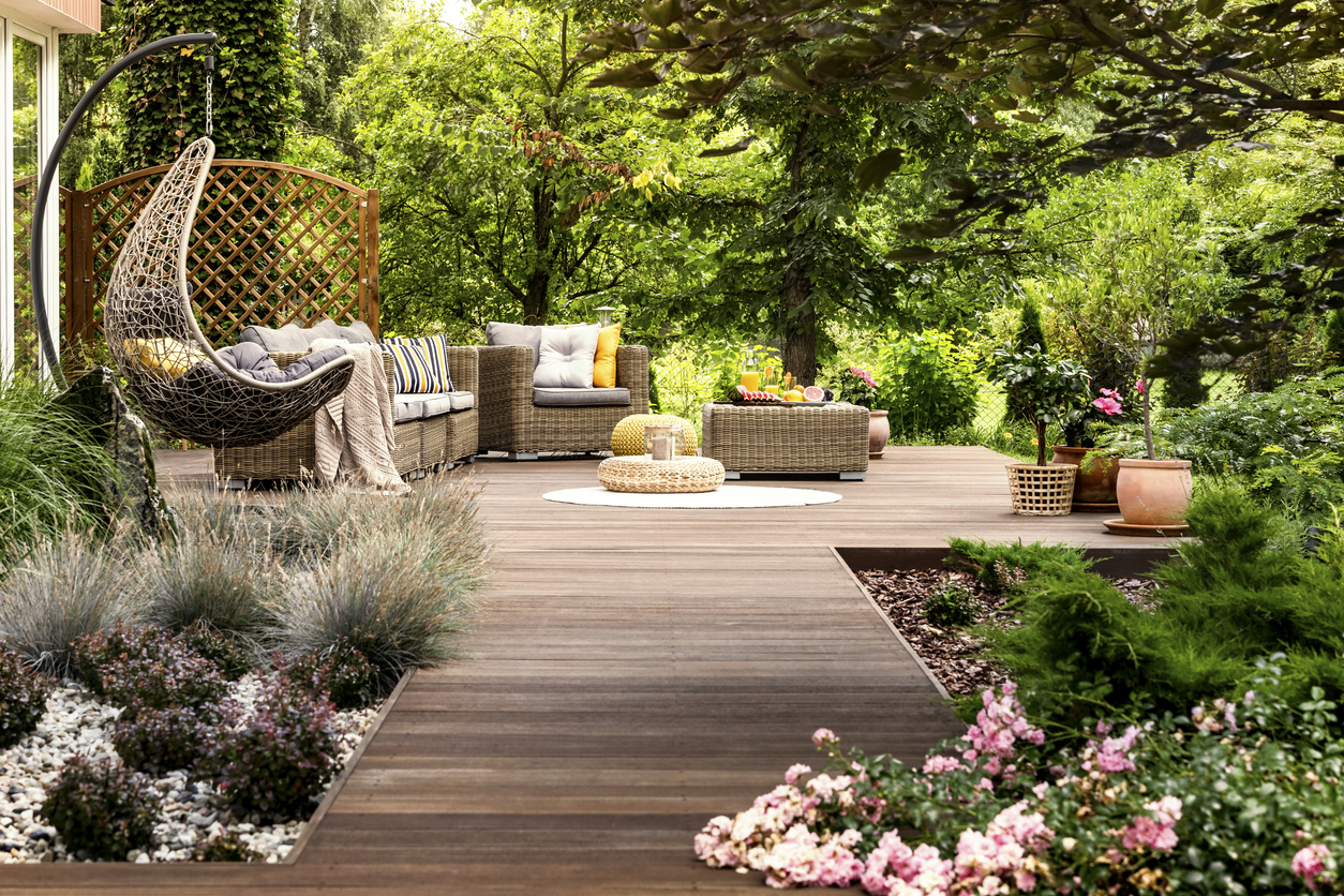 Planting Near Patios How To Grow A