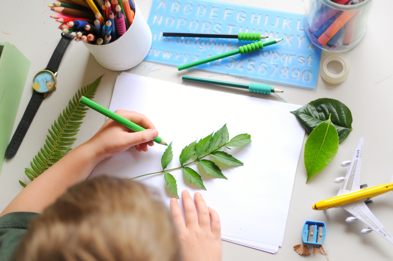 Children's Plant Art Ideas: How To Make Art Projects From Plants
