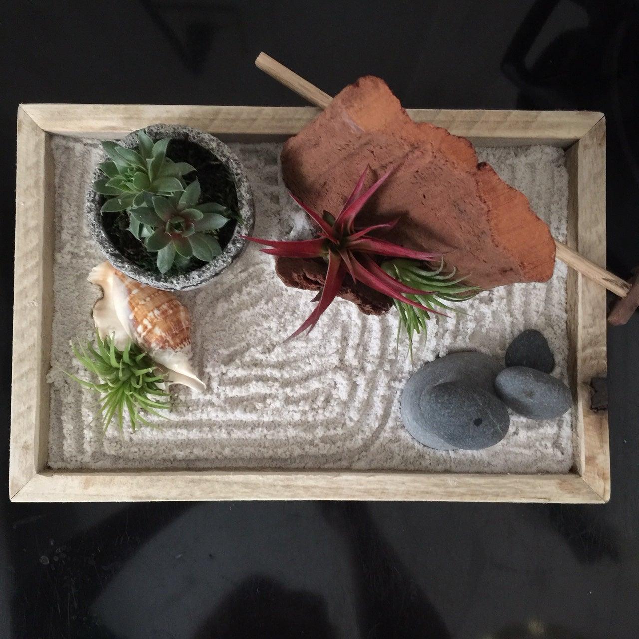 Mini Zen Garden Designing A Peaceful Zen Garden With Succulents