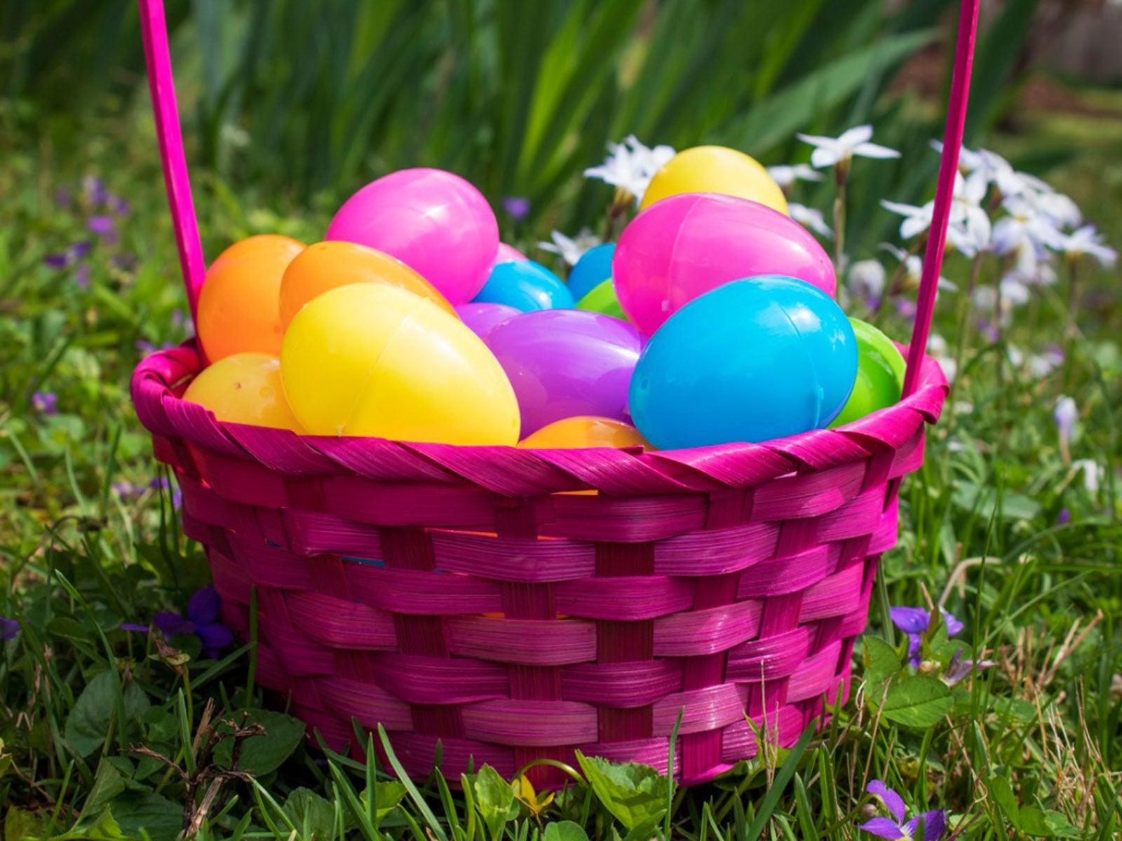 Reusing Plastic Easter Eggs Upcycle Easter Eggs In The Garden