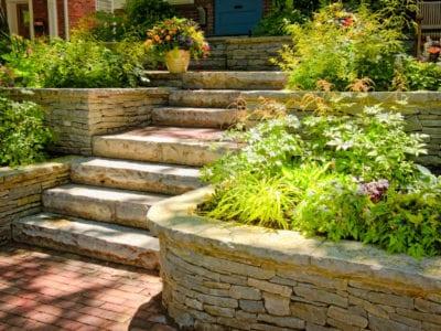 Terrace Garden Design Information On Building A Terrace Garden